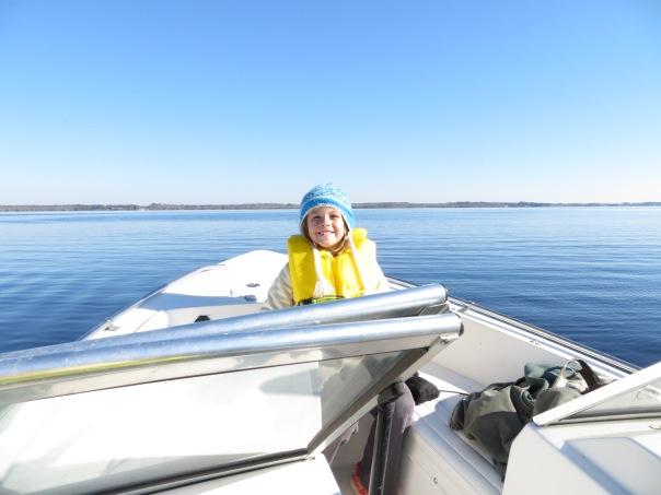 cold boat ride