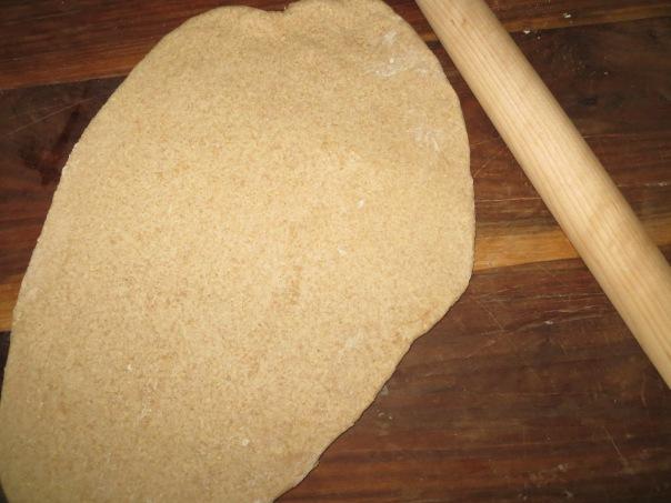 making swirl bread