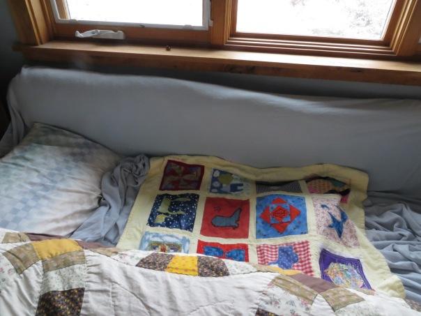 Steven's new bed